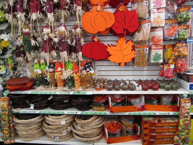 Dollar tree s thanksgiving display ted parsnips